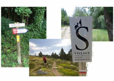 Chemin de Stevenson - Suivre le GR en blanc et rouge