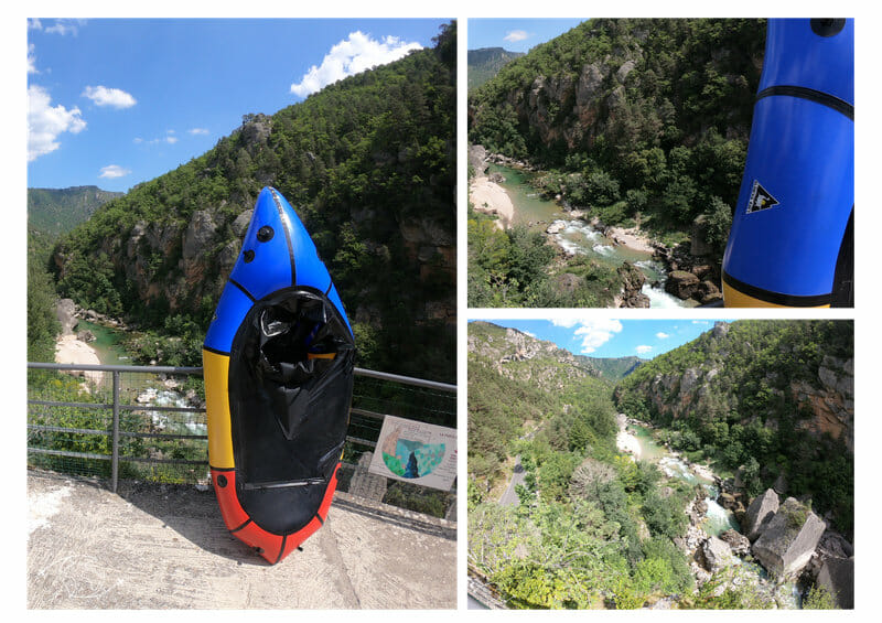 Triptique alpacka au Pas de Soucy - Gorges du Tarn