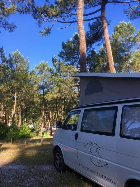 Van au Camping La Grigne - Ecole de Surf