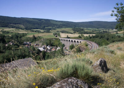 Chemin de Stevenson - Vue du Pont de Mirandol