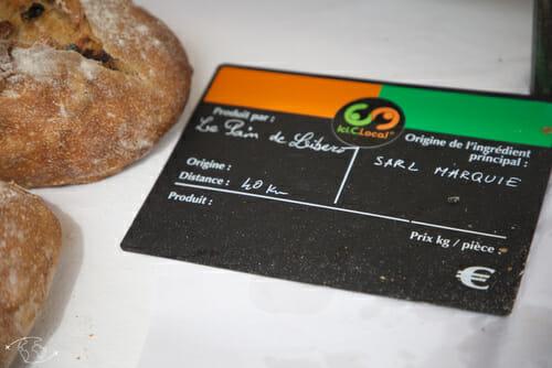 Etiquette marché St Affrique