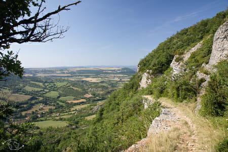 Randonnée Larzac - Au dessus de St Paul des Fonts 1