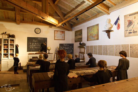 Domaine de Gaillac - Musée - Salle de classe