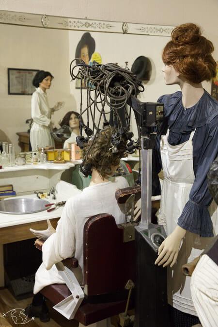 Domaine de Gaillac - Musée - Salon de coiffure
