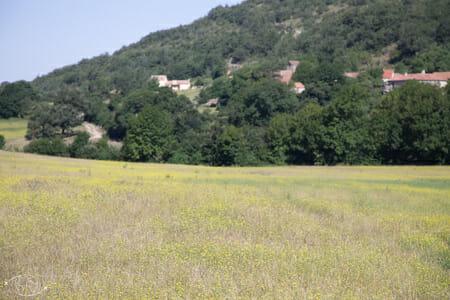 Randonnée Larzac - Entre Cornus et la Couvertoirade