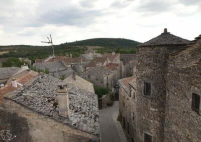 La Couvertoirade - autre vue des remparts