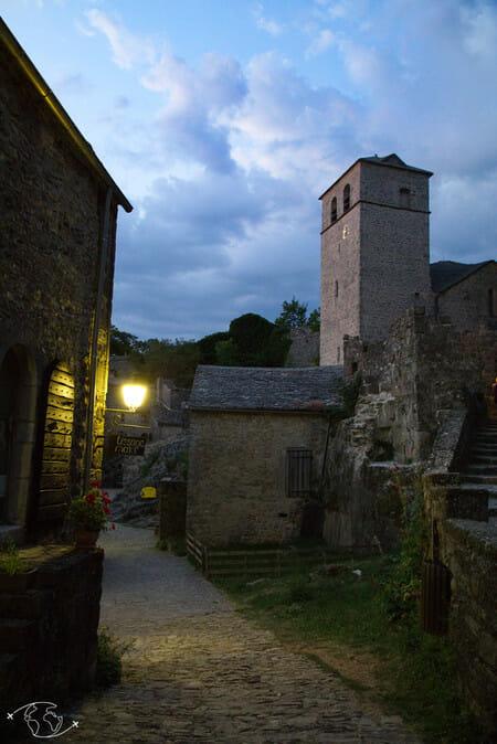 Randonnée Larzac - La Couvertoirade de nuit