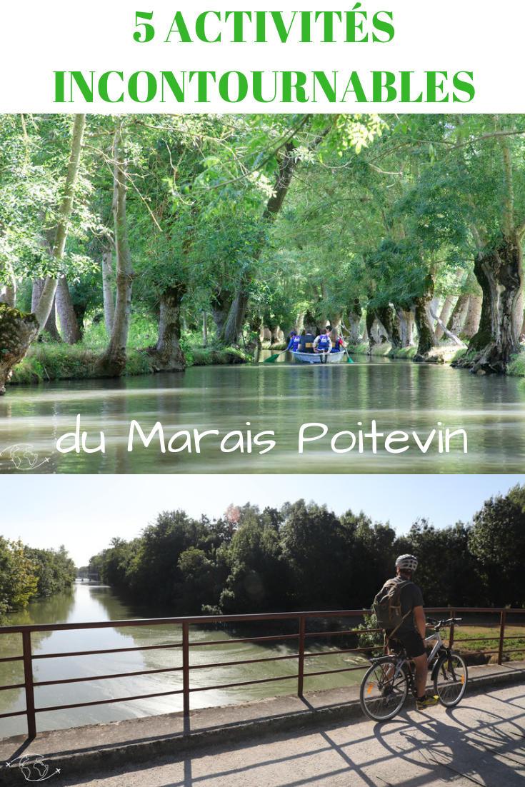 Des activités sportives, nature et culture incontournables pour bien découvrir le Parc Naturel Régional du Marais Poitevin #maraispoitevin