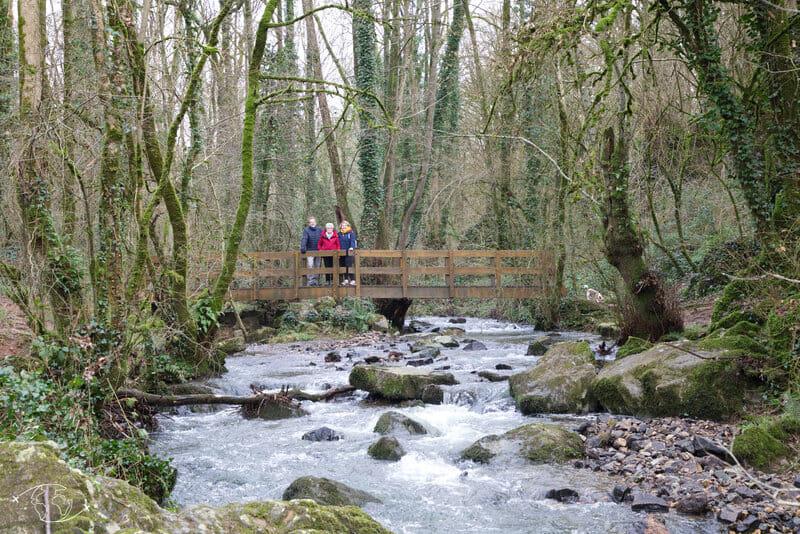 Balade au Puit d'Enfer à St Maixent - Le petit pont