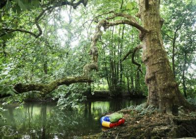 Dans les bras de la Sèvre avec mon Raft Alpacka - Marais Poitevin