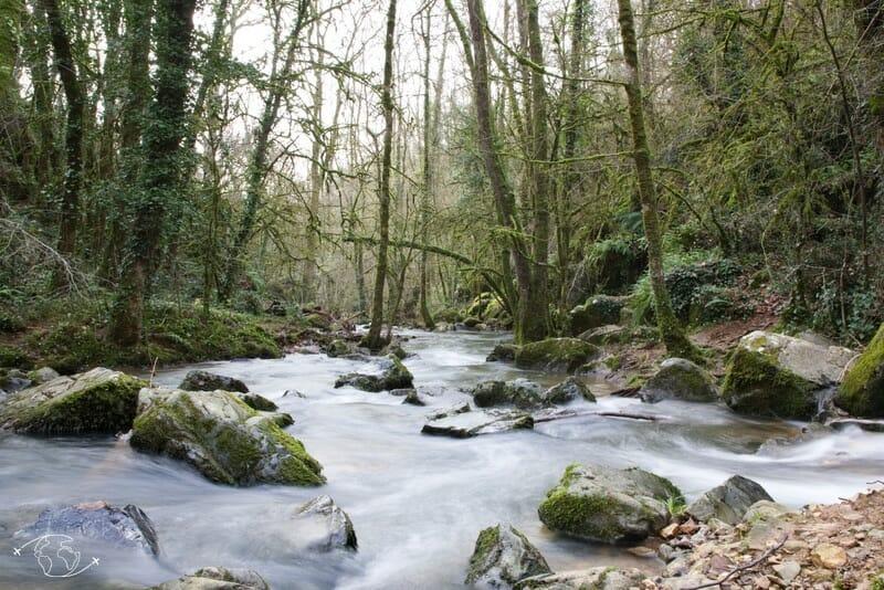 Rivière du Puit d'Enfer à St Maixent