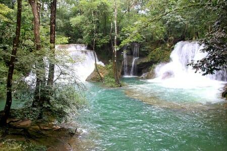 Que visiter au Mexique ? Cascades de Roberto Barrios