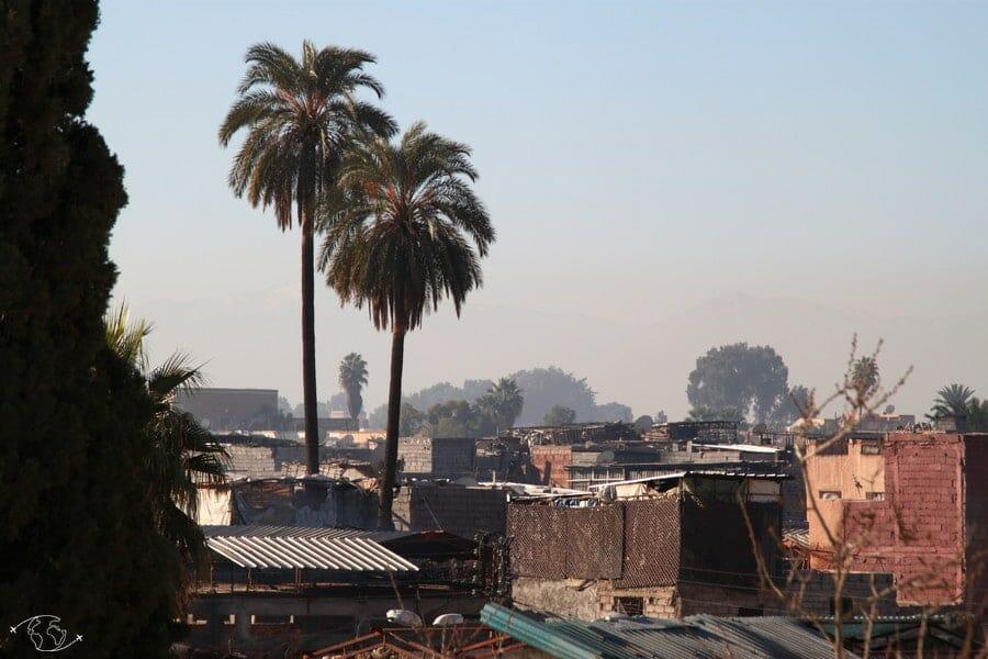 Les toits de Marrakesh