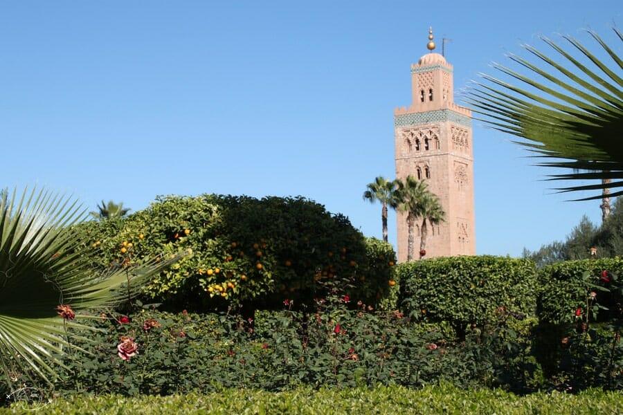 Mosquée de Marrakesh