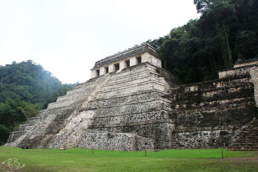 Que visiter au Mexique ? Pyramide de Palenque