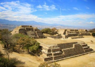 Que visiter au Mexique ? Pyramides du site de Oaxaca