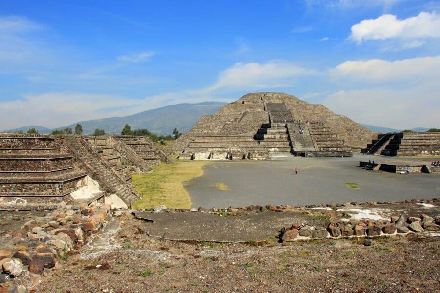 Pyramide du soleil - Teotihuacan - Mexique