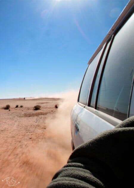 Roadtrip dans le désert du Sahara