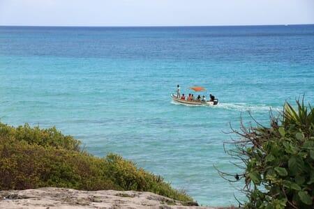 Site de Tulum dans les Caraïbes