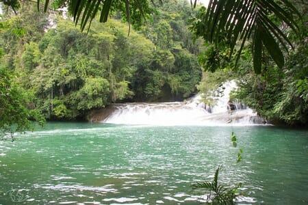 Site des cascades de Roberto Barrios