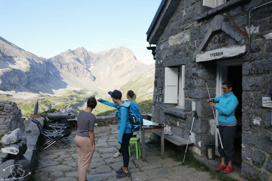 Randonnée suisse - Cabane de Susanfe - Dents du Midi
