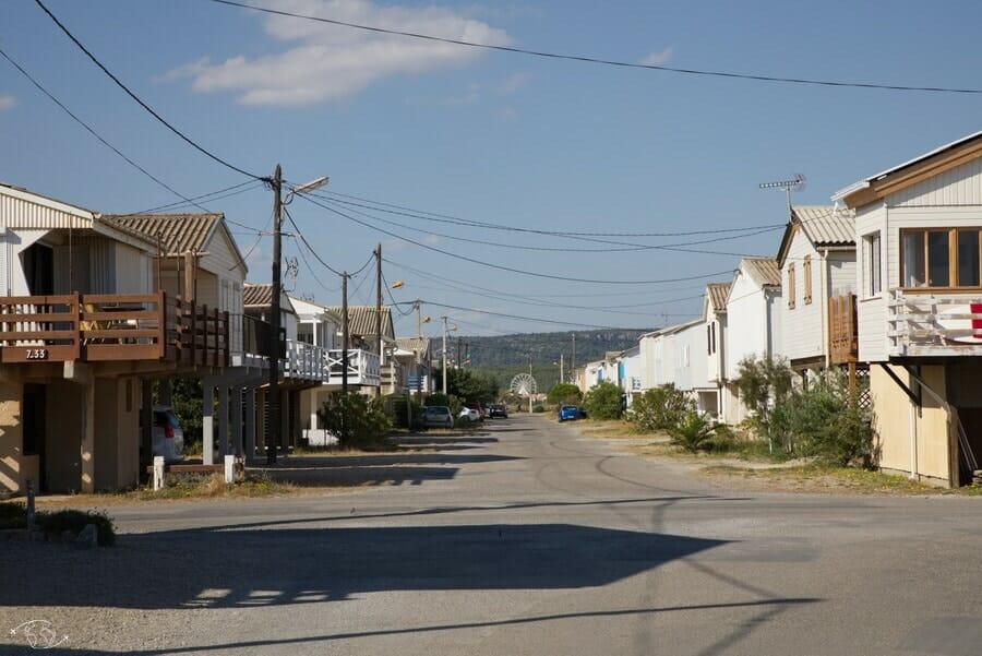 Quartier des chalets de Gruissan