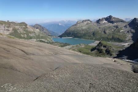 Randonnée suisse - Tour des Dents du Midi - Col de Susanfe