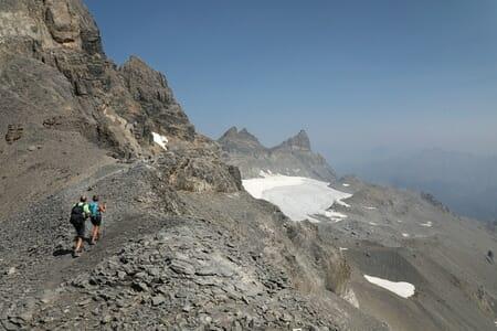 Randonnée suisse - Col des paresseux - Haute Cime - Dents du Midi
