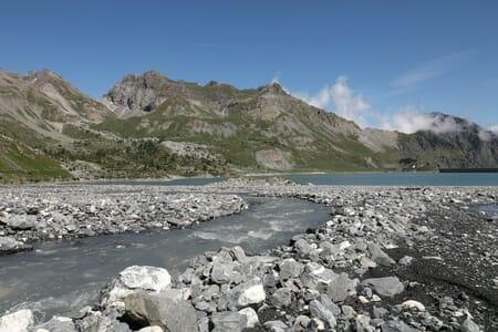 Randonnée suisse - De l'autre côté du Lac de Salanfe