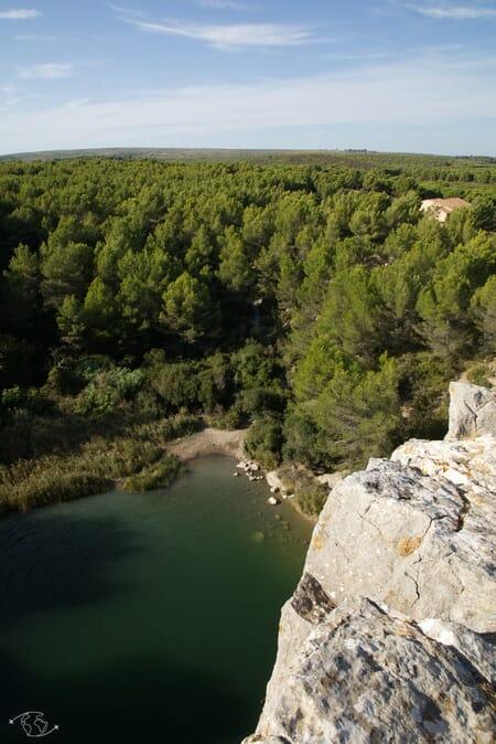 Visiter Narbonne - En haut du Gouffre de l'Oeil Doux