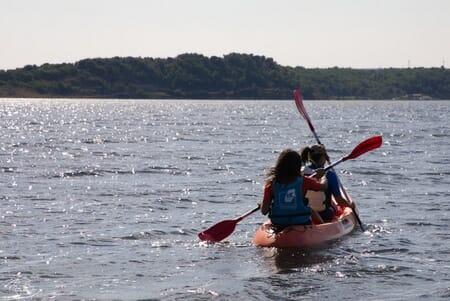 Kayak sur l'étang de Sigean - Port Mahon