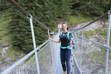 Passerelle de la Saufla - Tour des Dents du Midi