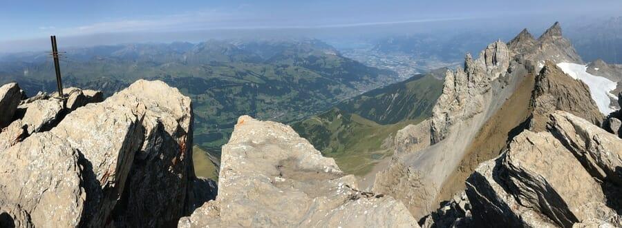 Randonnée suisse - Sommet de la Haute Cime
