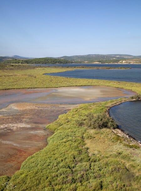 Superbe paysage de l'île des Oulous