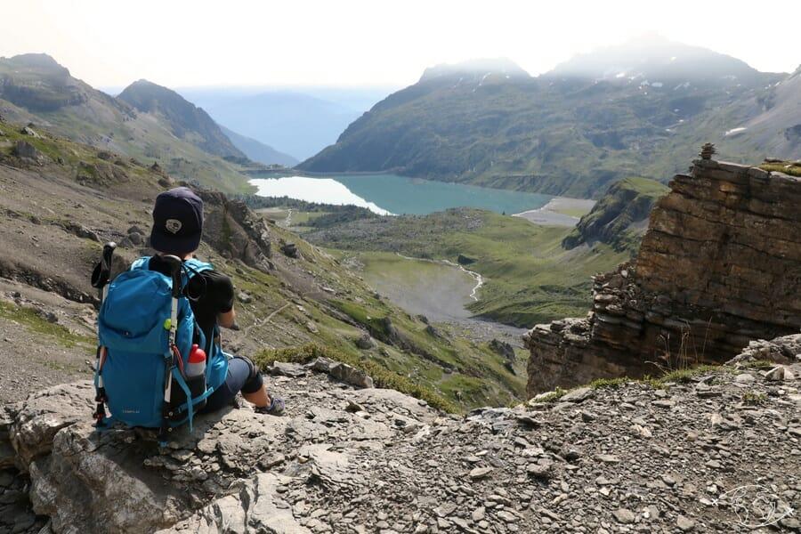 Randonnée suisse - Superbe vue sur le Lac de Salanfe