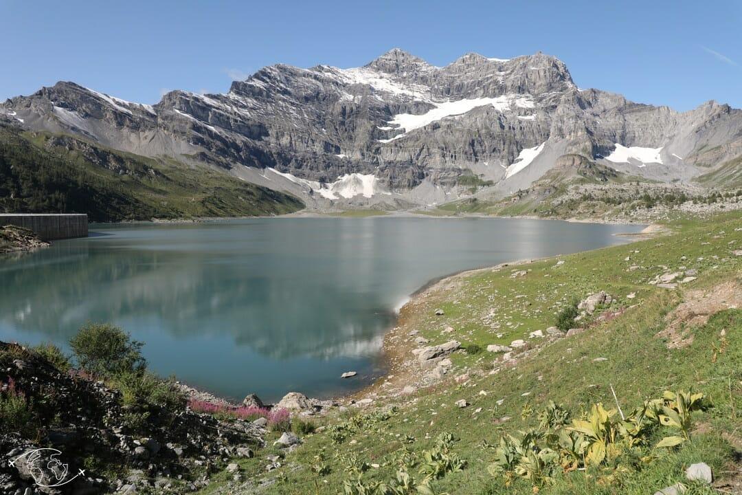 Randonnée suisse - Tour des Dents du Midi - Lac de Salanfe