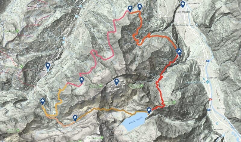 Randonnée suisse - Tour des Dents du Midi