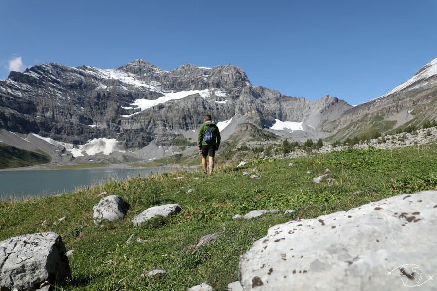 Randonnée suisse - Tour du Lac de Salanfe