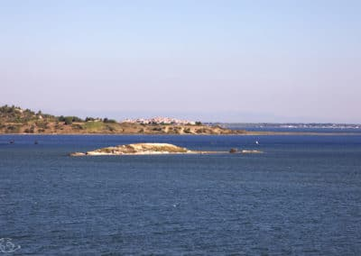 Visiter Narbonne - Vue de l'étang de Sigean