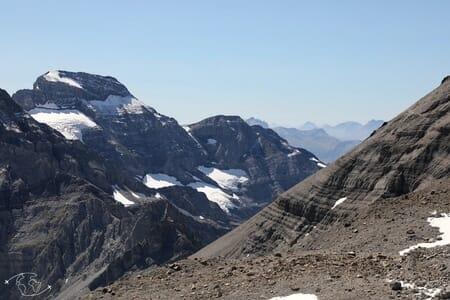 Randonnée suisse - Vue sur le Ruan - Dents du Midi