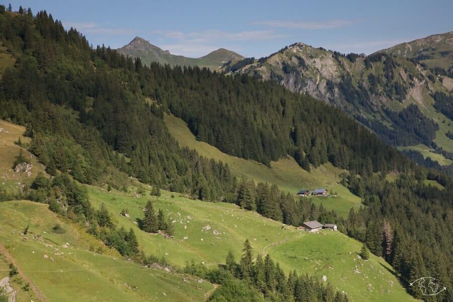 Cabane de Bonavau - Vue du Pas d'Encel