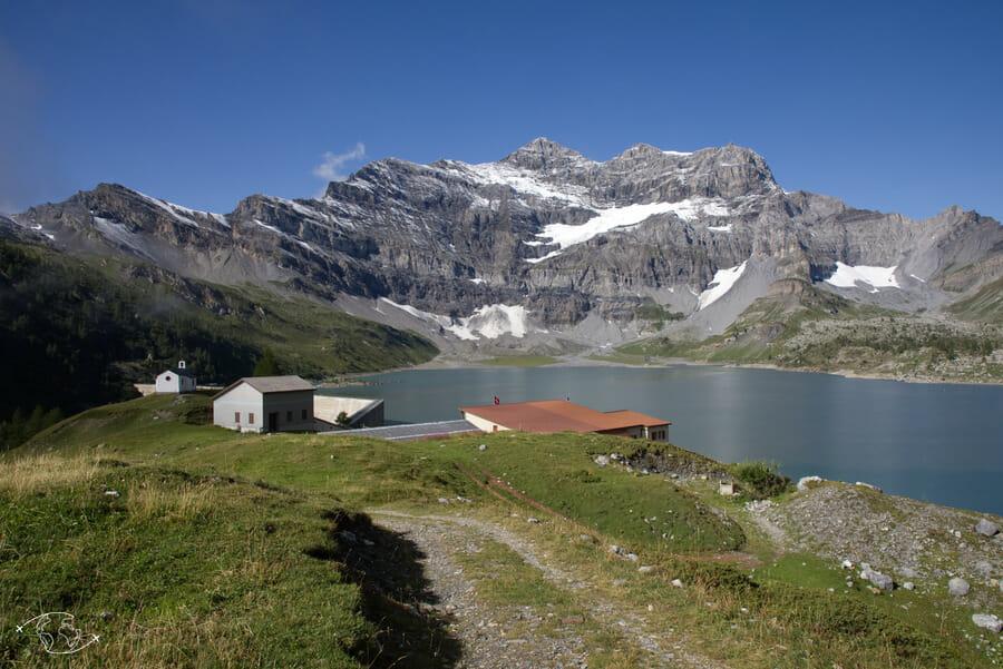 Randonnée suisse - Lac de Salanfe