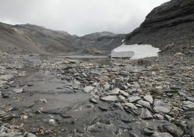Glacier entre Grenairon et Cheval Blanc - Tour du Ruan