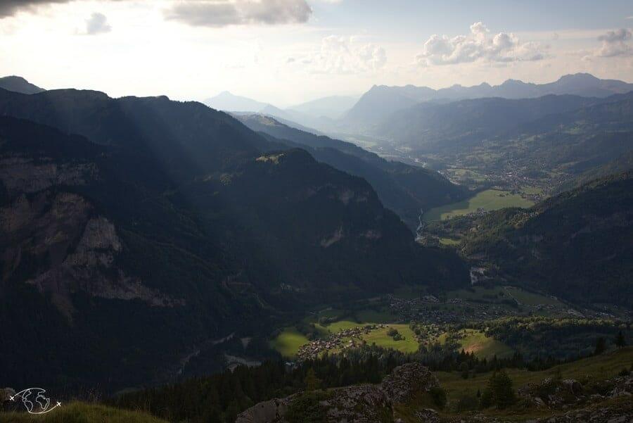 Lumière sur la Vallée de Sixt-Fer-à-Cheval - Tour du Ruan