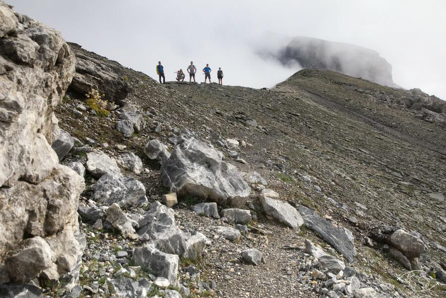 Randonnée vers Plan du Buet - Tour du Ruan