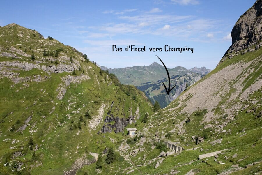 Vallée de Susanfe - Direction Pas d'Encel et Champéry