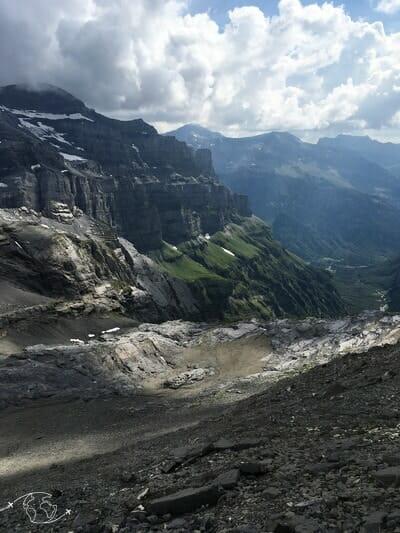 Vue du Col des Ottans - Tour du Ruan