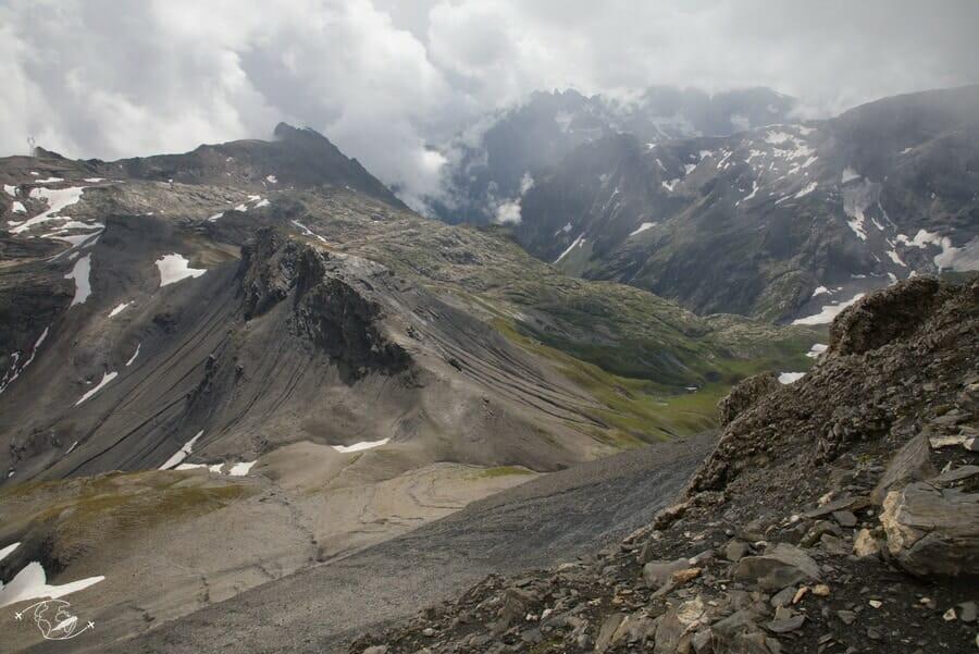 Vue du Col du Cheval Blanc - Tour du Ruan