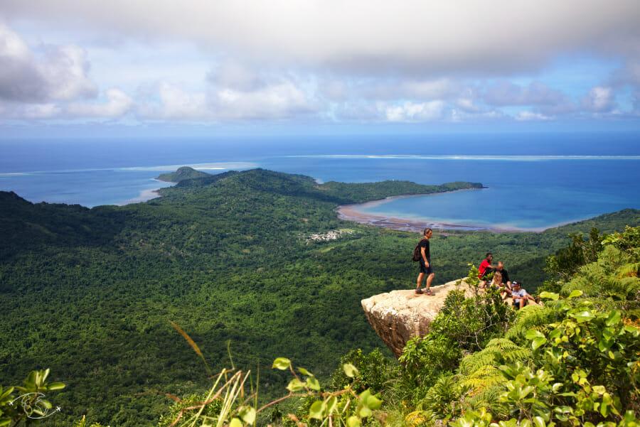 Au sommet du Mont Choungui - Visiter Mayotte