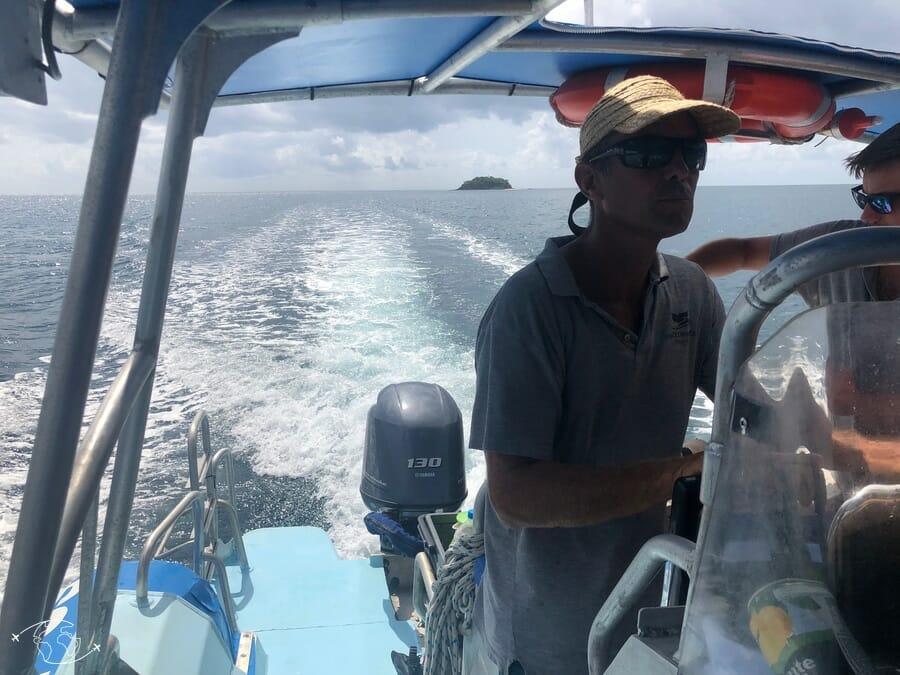 Neil de Seablue - Sortie bateau à Mayotte